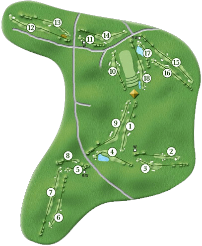 Waikele Golf Course Layout